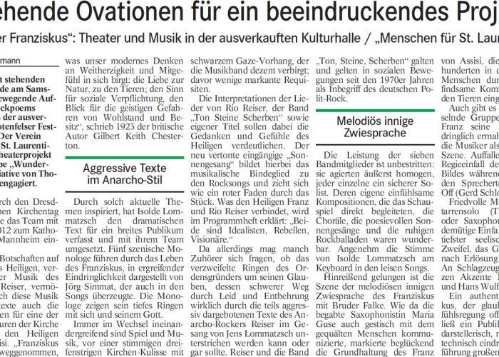 Badisches Tagblatt, 29.04.14