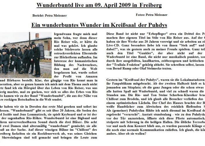 Deutsche Mugge vom 04.09.09